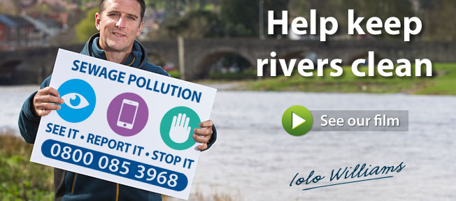Help keep our rivers clean