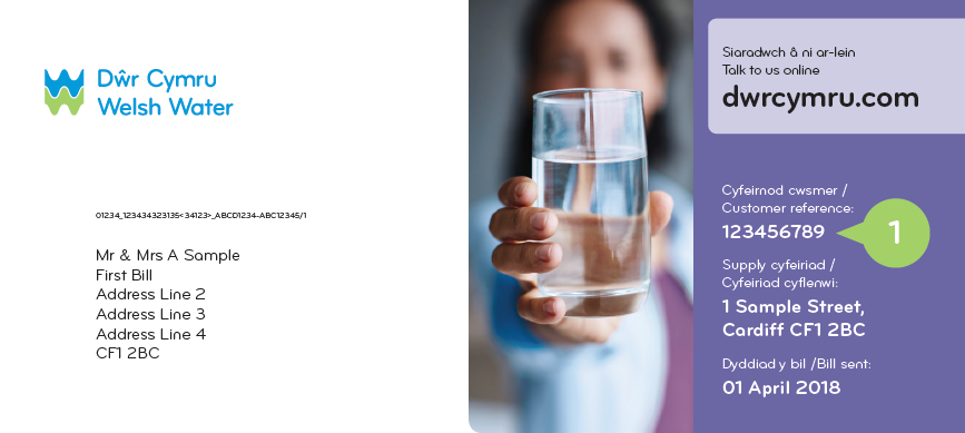 Questions about your bill | Dwr Cymru Welsh Water